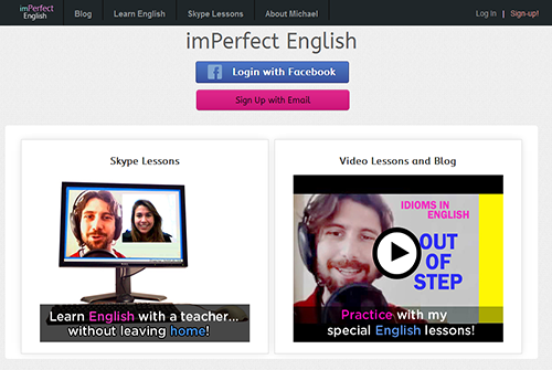 Imperfect English