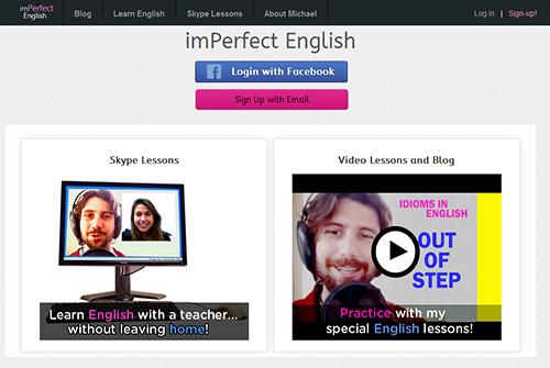 Imperfect English